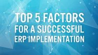 The most important factors affecting to an ERP implementation is to helping businesses to enhance their profits and activities through the power of ERP.  https://dfsm.com.au/the-most-important-factors-related-to-an-erp-implementation/