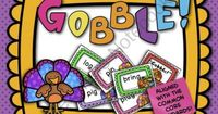 FREE! Gobble Game: CVC Words, Blends, and Digraphs Adorable turkey graphics + a simple game + short vowel words = fun reading practice! Directions for 2 versions of the game are included to help you differentiate. This set also includes one set of editabl...