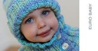 Maypole Beanie Neckwarmer - EY2007 from by Euro Baby at KnittingFever.com
