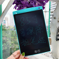 8.5 Inch LCD Writing Tablet Digital Drawing Board Electronic Handwriting Pad Message Graphics Board Kids Writing Board Bold Font Children Gifts