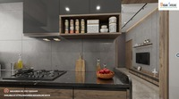 2 BHK Luxurious Flats in Ravet Kitchen View.png