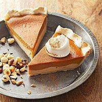 Try our best pumpkin pie recipe to fix your sweet tooth. Combine a cheesecake-like layer of dulce de leche with classic pumpkin pie filling and a nutty hazelnut