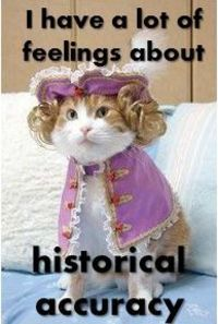 Historical accuracy cat