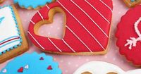#ValentinesDay #decorated #cookies by