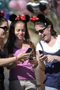 """~22 Ways to Save Time at Walt Disney World: ~tip #21 """"Download the Undercover Tourist app (for free). You can use it to forecast the crowds, read about the rides, and make up your own, personalized schedule, plus see park maps, menus and more...."""