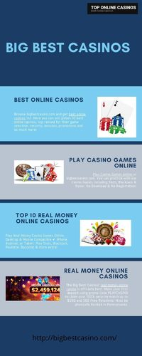 Play casino games online.jpg http://bigbestcasino.com/  Play Casino Games online at bigbestcasino.com. You can practice with our Casino Games including Slots, Blackjack & Poker. No Download & No Registration!  #playcasino #casinogame #playcas...