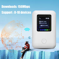 4G Wireless Mobile Router Portable WIfi Modem 150Mbps Support 8 Devices FDD-LTE WIFI Sharing