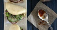 Red Shallot Kitchen: Pork Tenderloin Buns with Spicy and Tangy Fig Sauce