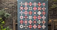 apotospitimou: Nine of Diamonds Quilt (by the workroom)