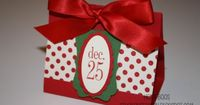 Stuck on Stampin': 12 days of Christmas {projects} - day 11 - http://stuckonstampin.blogspot.com/2011/12/12-days-of-christmas-projects-day-11.html