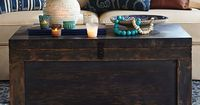 Guest Post: How to Style Your Coffee Table Great coffee table, so much storage!