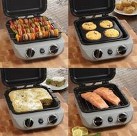 The Cuisinart CBO-1000 Oven Central is capable of cooking up a variety of meals. Featuring the ability to steam, saute, roast, broil, bake, and toast, the appli