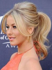 Teased Ponytail - Hairstyles and Beauty Tips