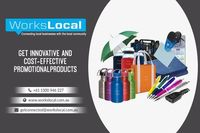 If you need unique and innovative promotional products in Brisbane for your business growth, then order your gift items from WorksLocal. It is the best platform to purchase and customize your promotional products. They give you a great discount on their p...