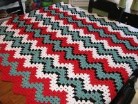 Crochet ripple blanket - I need to figure out how to make this.
