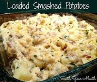 South Your Mouth: Loaded Smashed Potatoes