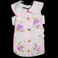 Fifi & Romeo Limited Edition French Floral Lace Cotton Top