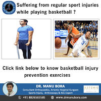 Suffering From Regular Sport Injuries While Playing Basketball ?