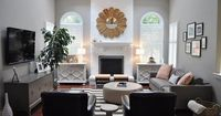 living rooms - Benjamin Moore - Cosmopolitan - Paint color