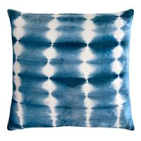 Azul Rorschach Velvet Pillow by Kevin O'Brien Studio $266.00