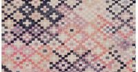 Loving these Quercus & Co. Wallpapers and wall hangings wallpaper walls pink kilim color