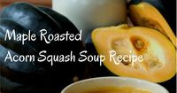 Pick up some acorn squash at your farmer's market for a delicious recipe that includes bone broth, raw milk and healthy fat. Nourish your family today and freez