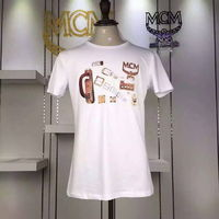 MCM Logo Style 02 Short Sleeves T-Shirt In White