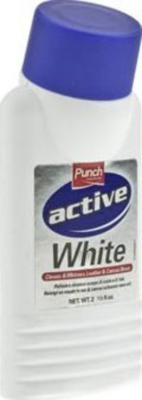 Schuh White Leather Whitener Shoe Care This bottle of leather whitener is formulated specifically for cleaning and whitening leather shoes, boots and trainers. Get that magic white colouring once more with this product. Not suitable for su http://www.comp...