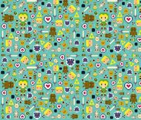 Link fabric by buttonfoxcrafts on Spoonflower - custom fabric