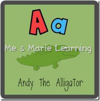 Very nice, high quality printables for preschool alphabet learning! Educationally sound!