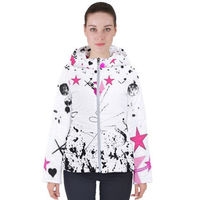 Skaterchic hooded puffy jacket $45.00