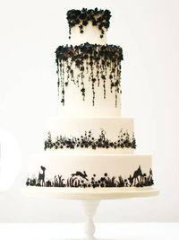 Enchanted Forest Wedding Cake - Stunning!