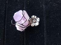 Amethyst Cluster Crystal Necklace $12.00