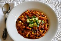 Heat Up Your Super Bowl Party with Ordinary Vegan's High Protein, Gluten-Free, Quinoa, Black Bean and Corn Chili