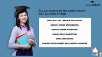 Digitrace is the best Digital Marketing Training Institute in Secenderabad, Hyderabad. It provides 100% Job Guarantee to the students. We will provide live projects by real time expert.