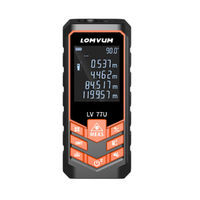 40M-120M Recharge Digital Laser Distance Meter Range Finder Measurement Tool Laser Rangefinder