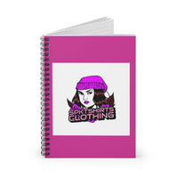 Simply Posh Kat T-shirts Spiral Notebook - Ruled Line £9.58