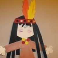 Perfect for a Thanksgiving bulletin board or a Native American study! Students answer questions on a survey and then create Native American glyphs ...