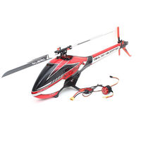 ALZRC Devil 380 FAST FBL 6CH 3D Flying RC Helicopter Kit With 3120 Pro Brushless Motor 60A V4 ESC Standard Combo