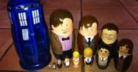 Every time I see these Dr. Who nesting dolls I laugh. Too bad they aren't something you can actually buy!