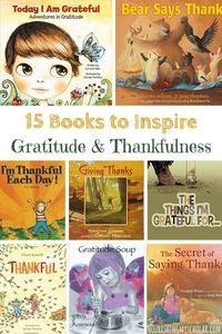 Looking for ways to teach gratitude to your kids? I'm sharing tips plus thankfulness and gratitude books to help you.