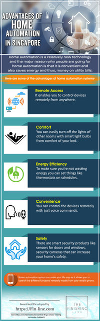 Advantages of Home Automation in Singapore