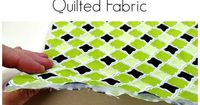 Step by step and full video tutorial on how to make your own reversible quilted fabric for use in bags, table mats, and other home decor quilted projects.