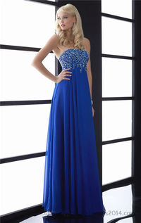 Jasz Couture 5010 Long Royal Beaded Strapless Prom Gown