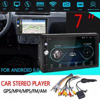 7inch 2 DIN Car MP5 Player Android 6.0 HD GPS MP4 FM AM Stereo 3G WIFI bluetooth