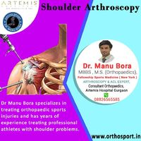 Dr Manu Bora specializes in treating orthopaedic sports injuries and has years of experience treating professional athletes with shoulder problems https://www.orthosport.in/