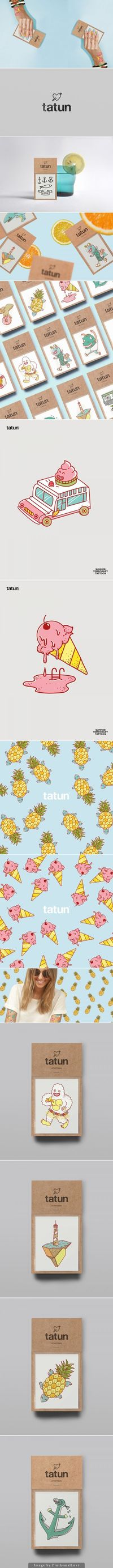 """California summer has arrived and in SoCal and we like to spend hot sunny days bronzing at the beach and enjoying fresh pineapple! TATUN Temporary Art Tattoos �€"""""""