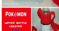 Pokemon Water Bottle Holster Free Crochet Pattern