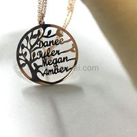 Family Tree Necklace Gift for Mom https://www.gullei.com/family-tree-necklace-gift-for-mom.html