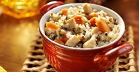 Main Course Recipe: Wild Rice Pilaf With Chicken